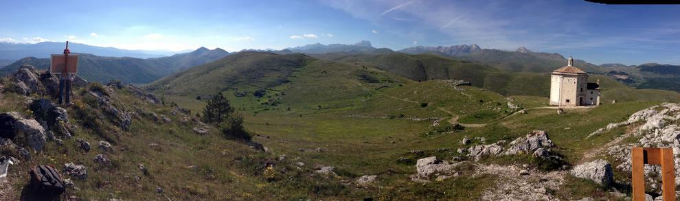 padasor-2014-summer-rocca-calascio-panorama